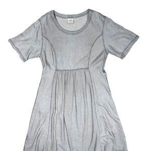 Vintage denim prairie dress